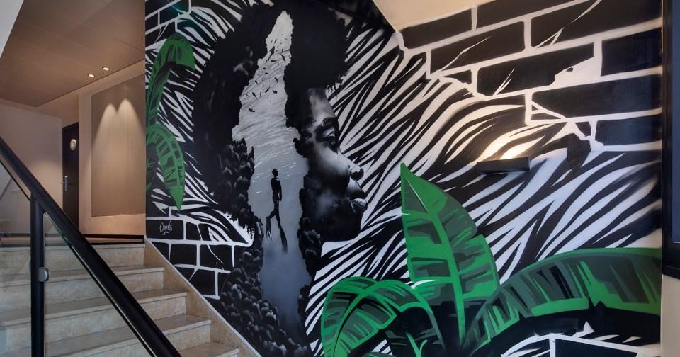 אומנות ועיצוב - מלון הבוטיק מיוז תל אביב