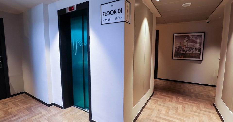 מסדרון חדרים - מלון מיוז תל אביב