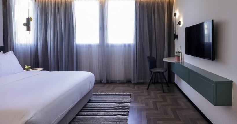 חדר שינה - מלון מיוז תל אביב