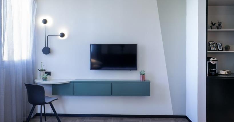 טלויזיה בחדר - מלון מיוז תל אביב
