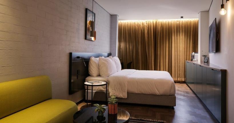 חדר עם מיטה  - מלון מיוז תל אביב