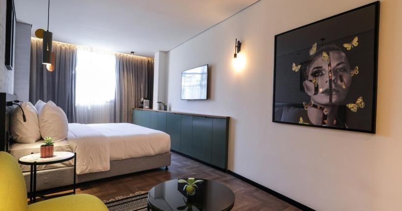 עיצוב חדר  - מלון מיוז תל אביב
